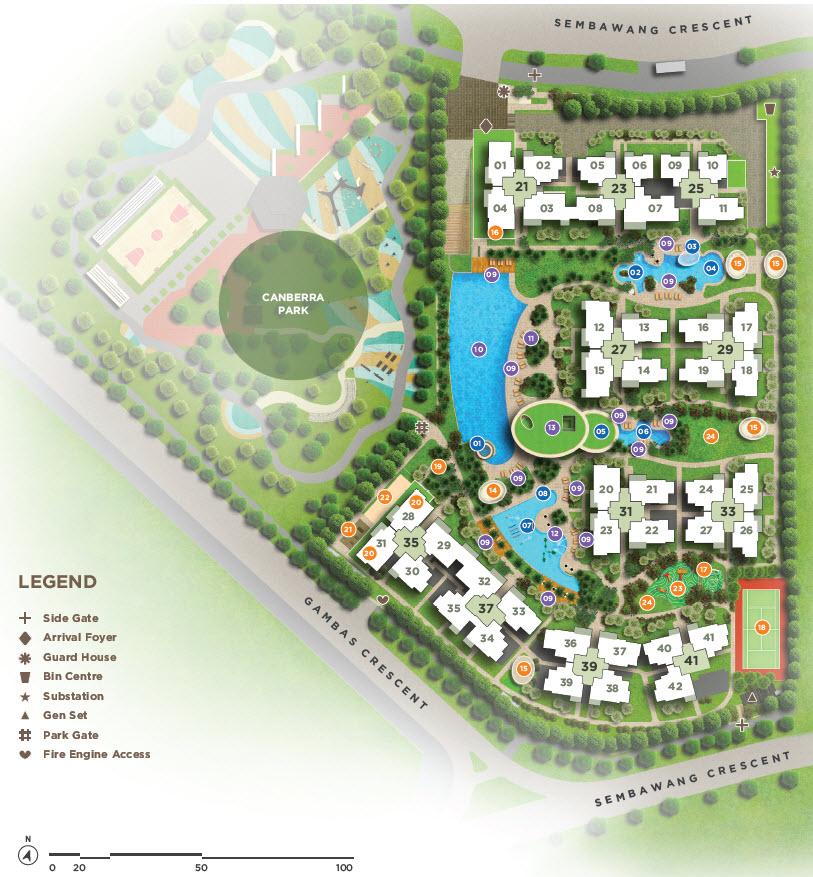 Parc Life EC Site Plan